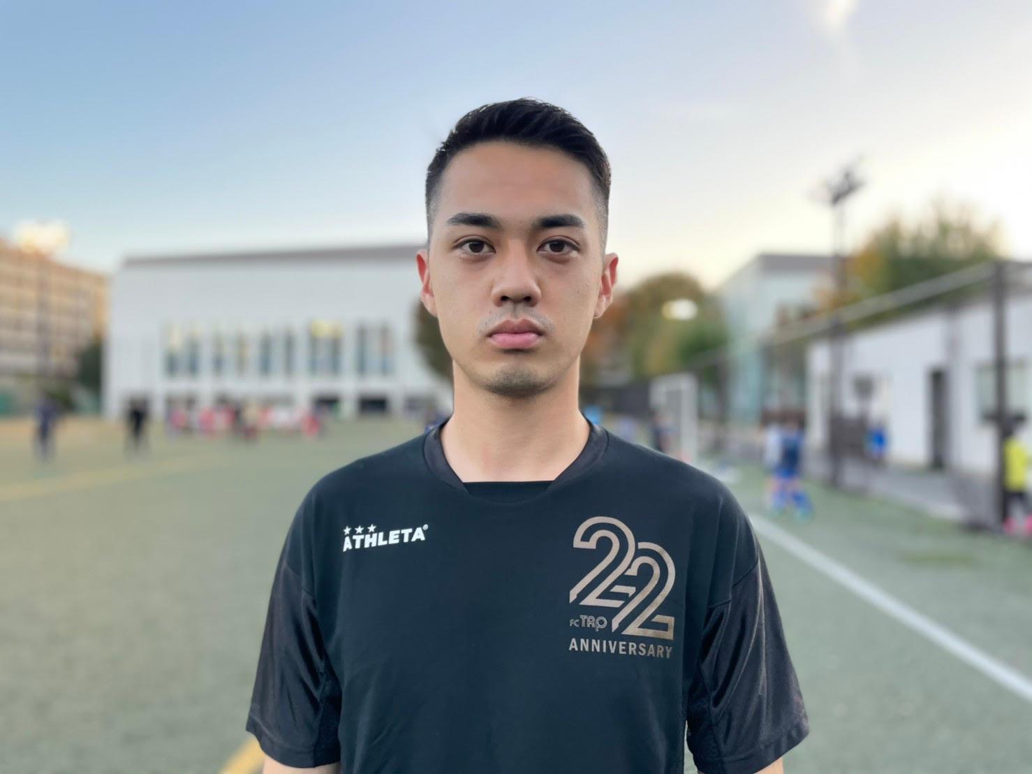 【渋谷Jrコーチ・町田Jrコーチ】山口嘉月 -Kazuki.Yamaguchi-