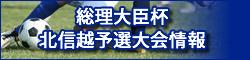 総理大臣杯北信越予選大会情報