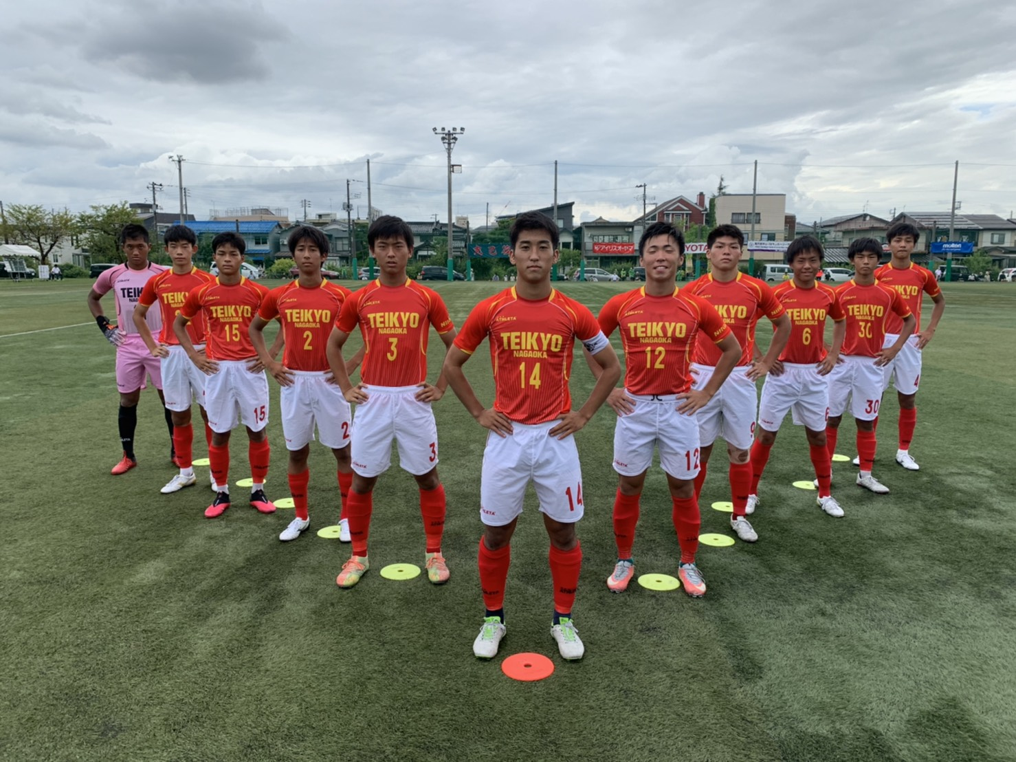長岡 部 帝京 サッカー